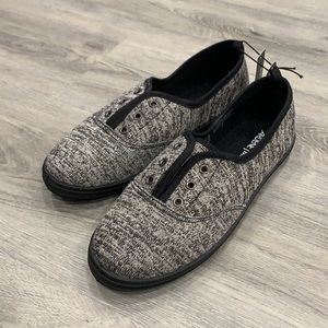 Ardene MAT Gray and Black Loafers